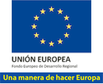 logo fondo europeo desarrollo regional al que está adherido Ingenia Digital