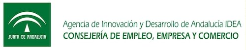 Logo consejería de empresa Junta Andalucia colaborador de Ingenia Digital