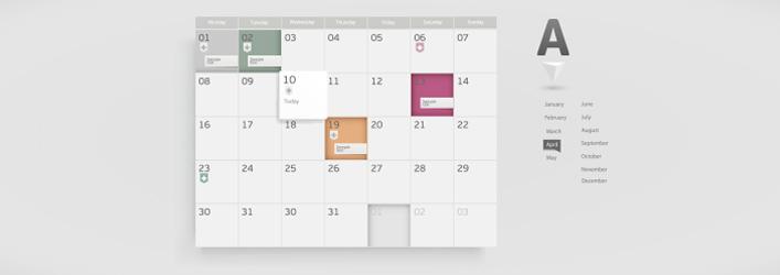 imprimir calendario