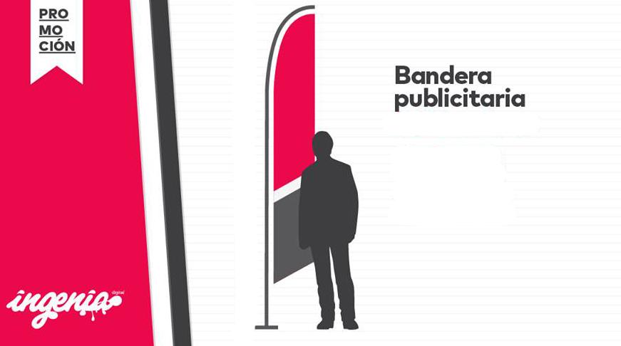 impresión de banderas publicitarias en Granada