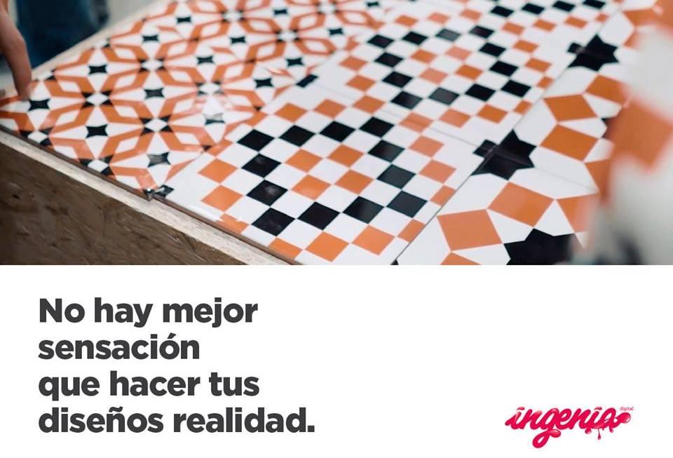 imprimir sobre cerámica en Madrid y Granada