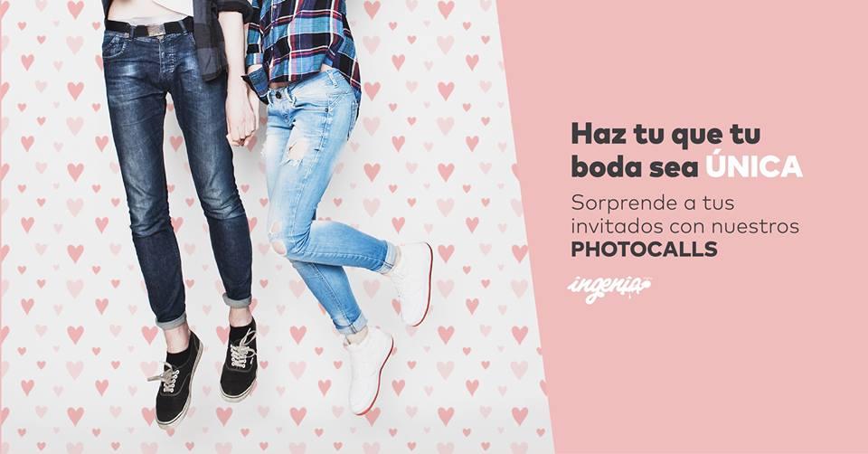 imprimir tu photocall para boda o eventos en Granada y Madrid