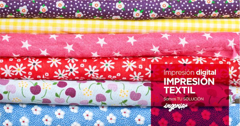 imprimir sobre textil en Granada