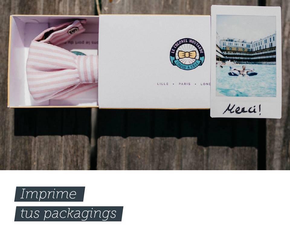 impresión de packaging y cajas para productos en Granada