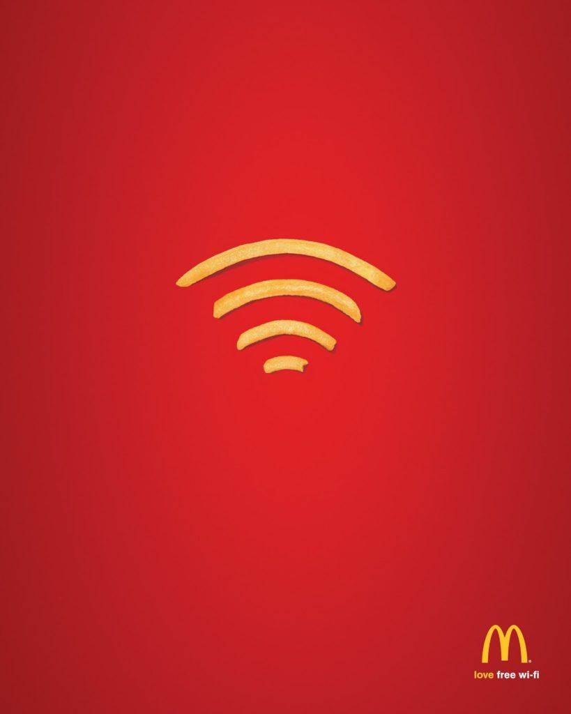 diseño en publicidad original campaña mcdonals