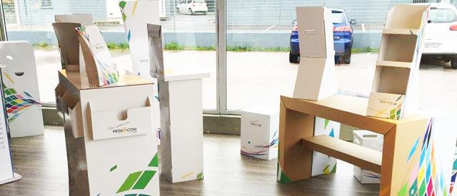 Ventajas y características de los PLV de cartón